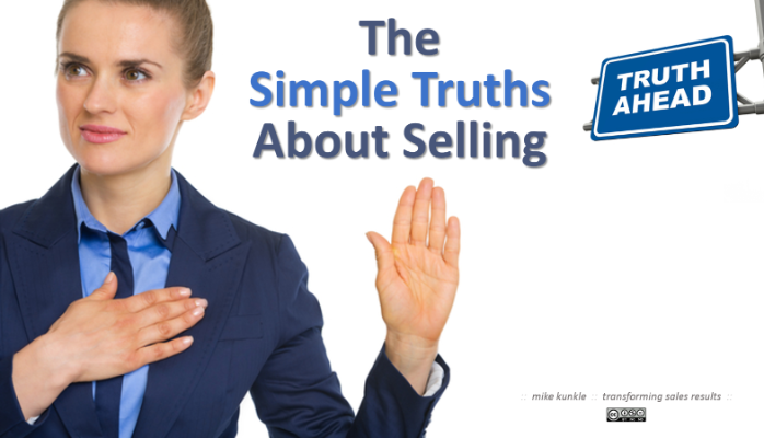 Simple Truths About Selling