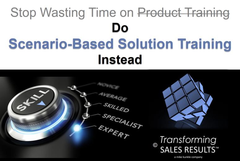 Scenario-Based Solution Training