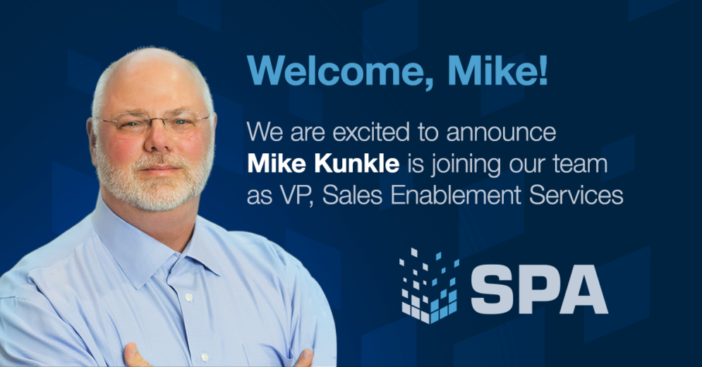 Mike Kunkle Joins SPA and SPASIGMA
